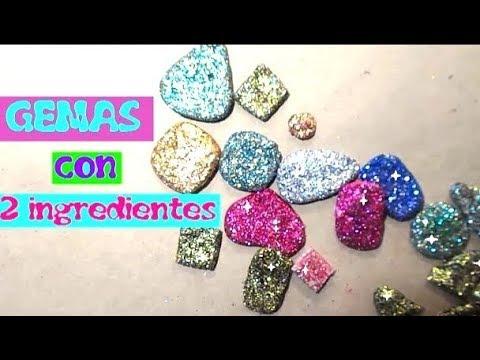 Como hacer gemas o piedras preciosas super brillantes for Como hacer color piedra