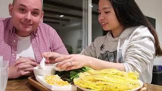 Vlog 217| Đổ Bánh Xèo Chiêu Đãi Người Đàn Ông Của Đời Tôi