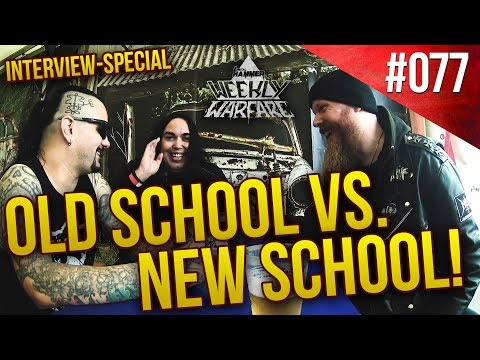Old School VS. New Generation of METAL | VITAL REMAINS INTERVIEW | Weekly Warfare #077