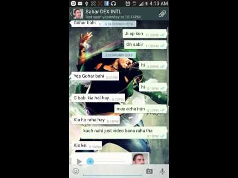 how to make colorful your whatsapp chat conversation urdu hindi 2016/07/03