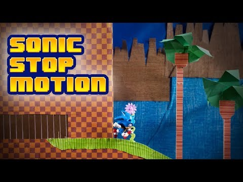 Sonic Stop Motion: Green Hill Zone