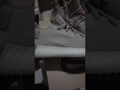 Petty Bourgeois Version UA Cheap Yeezy Boost 350 Turtle Dove Unboxing