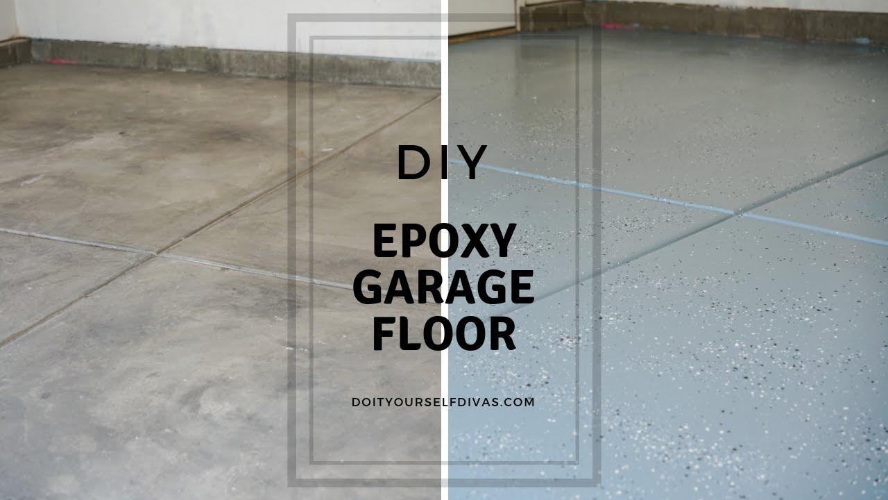 Diy Epoxy Garage Floor