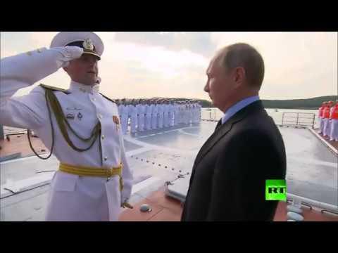 بوتين يتفقد أحدث