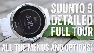 Suunto 9: Complete Menu & User Interface Walk-Through