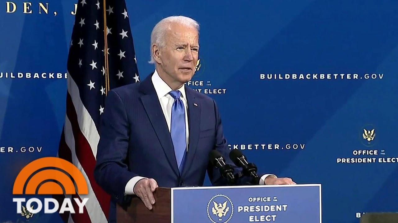 Politics In 2021: Georgia Runoffs, Biden Takes Office, Trump's Next Act | TODAY