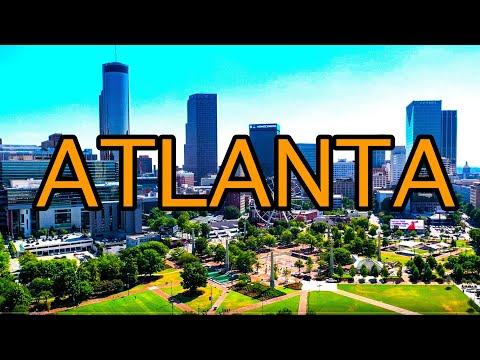 Downtown Atlanta Georgia Walking Tour 2019