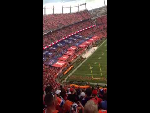 9-5-2013 NFL opening day Broncos vs Ravens