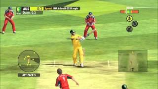 Ashes Cricket 2009 on NVIDIA GeForce 410M Gameplay
