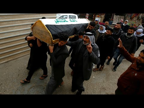 العراق: المتظاهرون مصممون على مواصلة الاحتجاج رغم مقتل العشرات في -مذبحة السنك-  - نشر قبل 3 ساعة