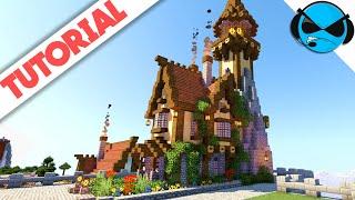 Minecraft How To Build A Lighthouse Tutorial | Minecraft Medieval Docks Village - Part 10