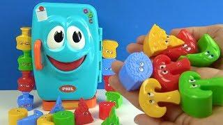 Niloya Mete Tospik ve Çılgın Buzdolabını doldur Kutu Oyunu ile Phil the Fridge