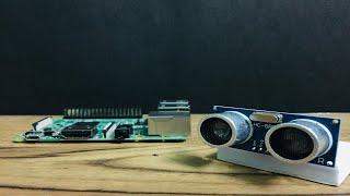 Raspberry Pi Ultrasonic Sensor | Distance Measurement DIY Machine | Life Hacks With Ryan
