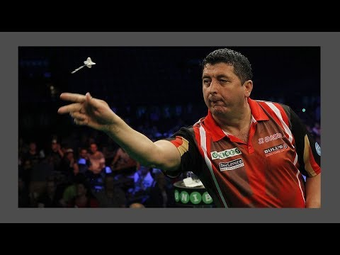Mensur Suljovic Throw Prior To Having Dartitis - 2002 BDO World Championship