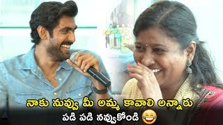 Rana Interaction With C/o Kancharapalem Movie Team | Praveena Paruchuri | Maha Venkatesh | NewsQube