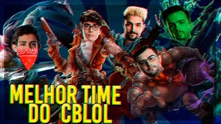 MELHOR TIME DO CBLOL 2017 (BRTT, DIOUD, LEP, LEKO, BRUCER) - Rexpeita a Stream #52
