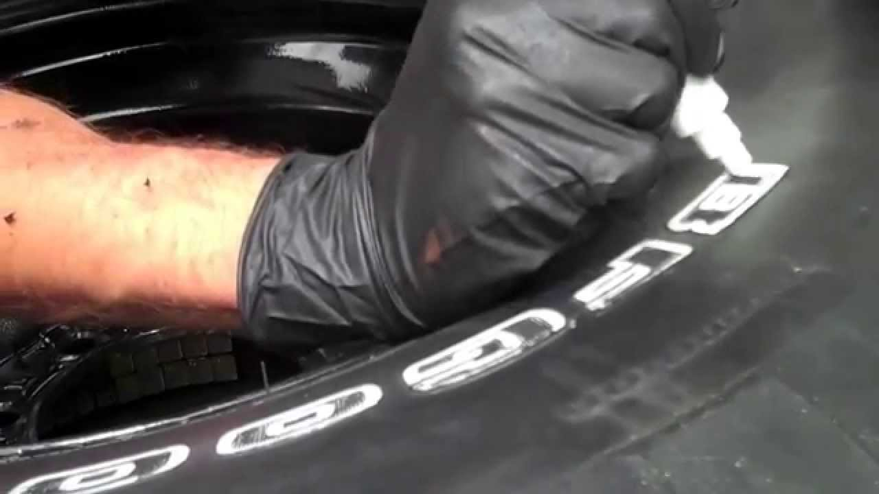 How To Make Raised White Letters On Tires Half Idiots Guide Youtube
