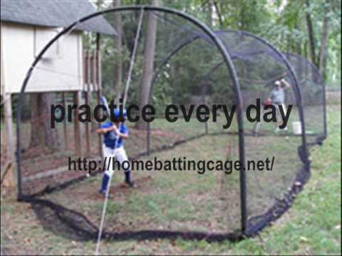 Backyard Batting Cage