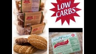 Low Carb Bread & Cookies while on the Atkins & Gluten Free Diet (Induction Phase Friendly)