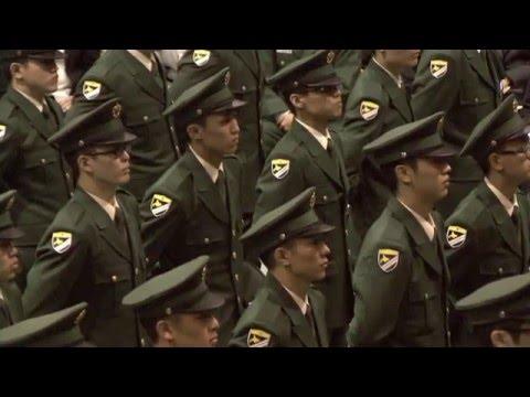 平成28年度 自衛官候補生 入隊式
