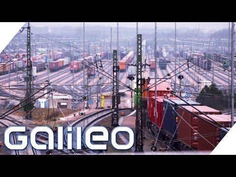 Größter Rangierbahnhof Europas | Galileo | ProSieben