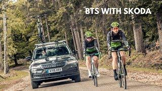BTS SHOOTING SKODA'S CYCLING CONCEPT CAR - THE KAROQ VELO