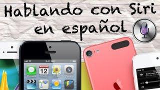 Hablando con Siri en Español | ¡PREGUNTAS GRACIOSAS! (iOS 6)