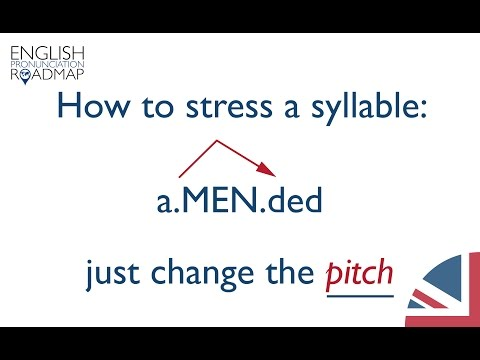 What Is A Stressed Syllable