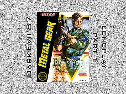 Metal Gear (NES) Longplay (Part 1)