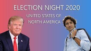 2020 Election Night | Justin Trudeau vs Donald Trump