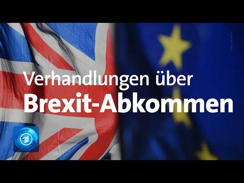 Erneut Verhandlungen über Brexit-Abkommen in London
