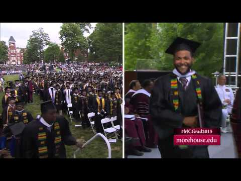 Morehouse Commencement 2015