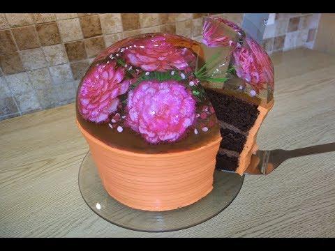 Gelatin Art Cake Topper