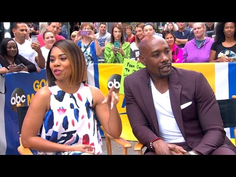 Thumbnail: Morris Chestnut and Regina Hall Talk 'When the Bough Breaks' on 'GMA'