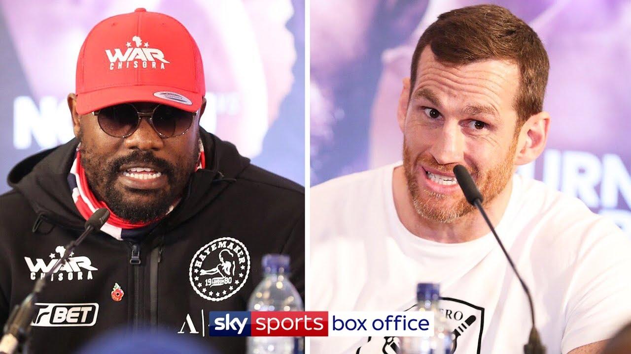 LIVE PRESS CONFERENCE | Derek Chisora vs David Price ????|  Plus Okolie, Burns/Selby
