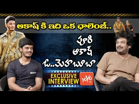 Puri Jagannadh Interview with Akash Puri   Mehbooba Telugu Movie   YOYO TV Channel