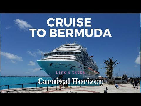 Our 1st Cruise Vacation To Bermuda 2018 - Carnival Horizon