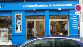 A quick tour of Tabletennis11 store in Paris downtown