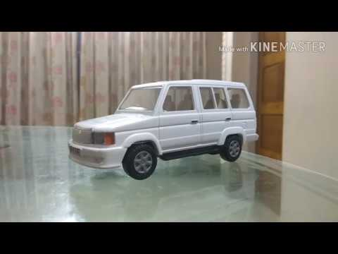 Unboxing Toyota Qualis Scale 1 32 Youtube