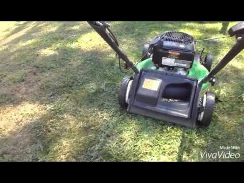 17732 Lawn Boy Push Mower Wheel Grinding Youtube