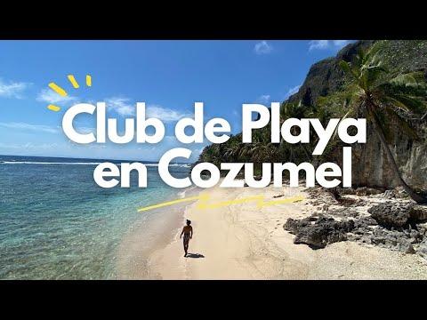 Así es un Club de Playa en COZUMEL 🌴🍹 Mr. Sanchos Beach Club