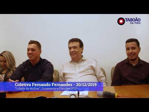 Prefeito Fernando Fernandes fala sobre votação do orçamento e eleições 2020