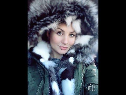 видео: Парка с мехом лисы и песца с aliexpress. Верхняя одежда. Зимняя куртка.