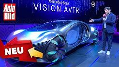 Mercedes Vision AVTR (2020): Concept Car - Konzept - Avatar