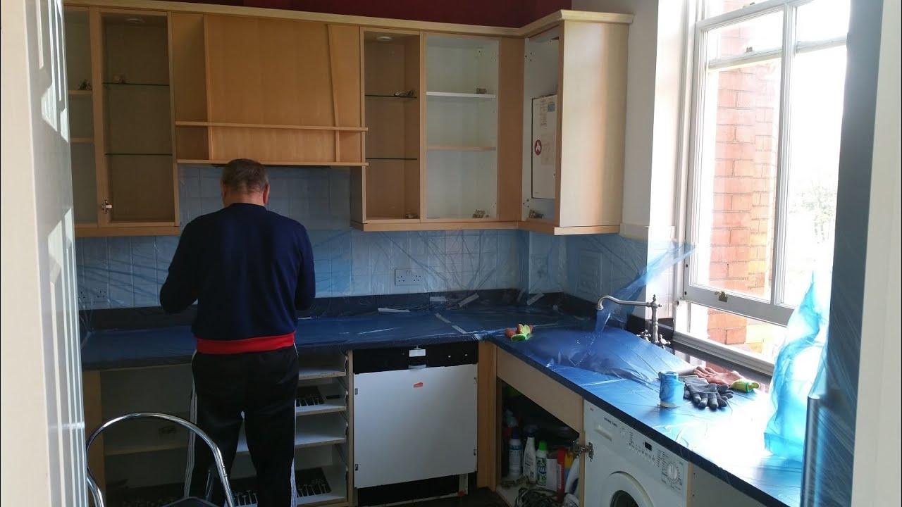 respray kitchen