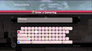 NCAA 12: How To Download Named Team Rosters (Xbox 360) by Nadasfan