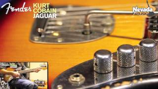 Fender Kurt Cobain Jaguar Guitar Demo @ Nevada Music UK