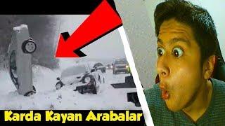 Karda Kayan Arabalar ?!  Komik Kaza Videoları