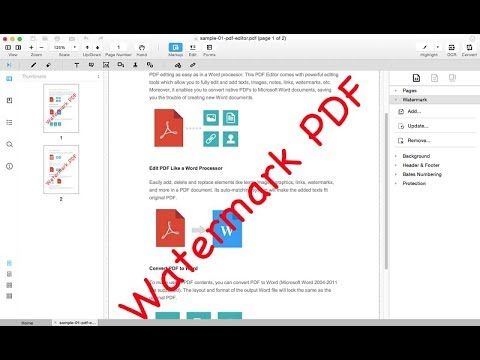 Unlocker watermark pdf without