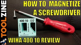 How To Magnetize a Screwḋriver - Wiha Magnetizer / Demagnetizer Review